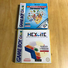 Nintendo Gameboy Boxed - Hexcite & Microsoft Puzzle Collection Entertainment