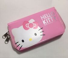 New Genuine Sanrio Hello Kitty Mobile Phone Purse Case BagWallet w Minor Defects