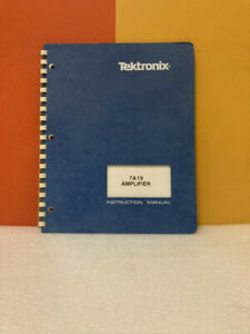 Tektronix 070-2129-00 7A19 Amplifier Instruction Manual