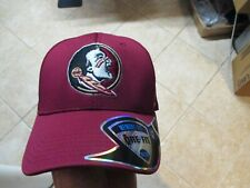 pretty nice 46bc0 21483 FLORIDA STATE SEMINOLES TOP OF THE WORLD FLEX FIT HAT (SM MED) NWT