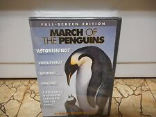 March of the Penguins (DVD, 2005) - NEW