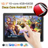"""HD 10.1"""" Android 7.11 4G+64G Tablet Unlocked Dual 3G SIM Deca Core WiFi Phablet"""