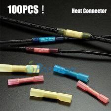 100PCS 22-10 AWG DuraSeal Heat Shrink Butt Splice Connector Terminals Splices NE