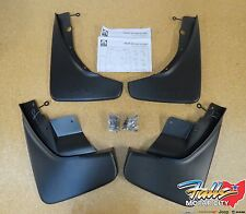 2011-2020 Jeep Grand Cherokee Deluxe Front & Rear Molded Splash Guards Mud Flaps