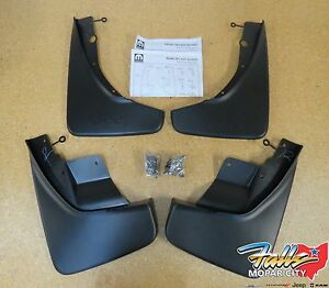 2011-2021 Jeep Grand Cherokee Deluxe Front & Rear Molded Splash Guards Mud Flaps