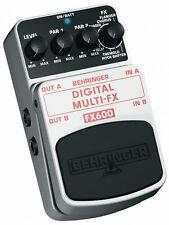 Behringer FX600 DIGITALE multi-fx - multi-effects - SPEDIZIONE GRATUITA *** Nuovissimo ***