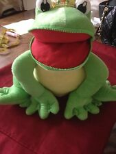 PRINCESS & THE FROG BIG GREEN FROG BED PILLOW RARE VERY HARD TO FIND
