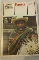 Vittorio G. Rossi - FAUNA - 1973 - Mondadori