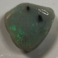 BIG *VIDEO 35.55CTS SEMI BLACK OPAL ROUGH / SPECIMEN RUB Lightning Ridge