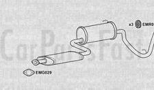 EXDU6004 EXHAUST REAR SILENCERS TAIL PIPE +3Yr Warranty