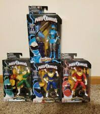 Saban's Power Rangers ZEO BAF Megazord, Red, Blue, Green Ranger and Bonus Fig