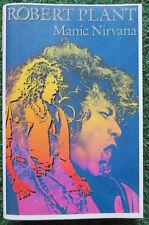 ROBERT PLANT **Manic Nirvana** ORIGINAL Cassette Venezuela 1990 LED ZEPPELIN