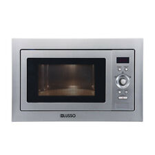 595*388*440mm Built In Microwave with Grill Stainless Steel Finish 900W 28L