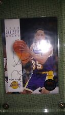 DOUG CHRISTIE SIGNED 93-94 SKYBOX ROOKIE CARD