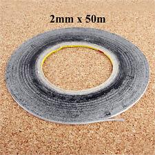 2mm Doppelseitiges Klebeband 3M Länge 50m Rolle Kleber Streifen Handy Reparatur