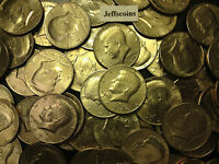 1971- 1979 PD Kennedy Half Dollar 10x Coin Lot All 70's Old Original US Mint 50¢