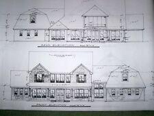Custom Home Plan 4131 A/C Sq Ft 2 Story 4 Bed, 4 1/2 Bath, Formals, Media 3 Car