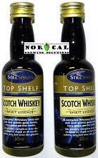 Still Spirits Top Shelf SCOTCH WHISKEY ESSENCE Whisky Oak Liquor Vodka 2-PACK!
