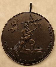 Airborne All The Way 1940-1990 Aviation Hall of Fame Medallion / Medal / 82nd