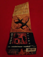 Crowded House Woodface cassette album insert