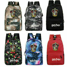Harry Potter Hogwarts Gryffindor School Bag Breathable Backpack Students Bookbag
