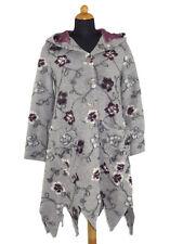 Mantel Damenmantel Walkmantel Wollmantel grau bordeaux wollweiß geblümt