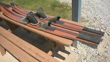 Vintage Maherajah Wooden Water Skis   (2)     LOCAL PICKUP ONLY