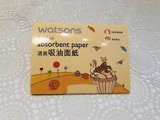1 X Watsons Facial Absorbent Paper Oil Blotting Paper - 100 Sheets