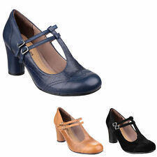 Hush Puppies 100% Leather Mary Janes Shoes for Women