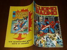 L' UOMO RAGNO N° 142 CORNO Ed CORNO 1975 DA RESA - MAGAZZINO !!