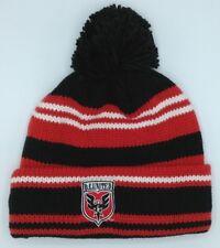 Mls Dc United Adidas con Risvolto Pon Invernale Maglia Cappello Berretto  Cuffia 37ba361fb8b7