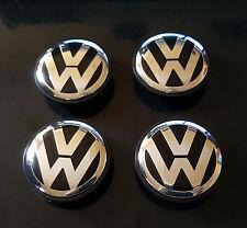 4 logo VWvw caches moyeu 55mm , centres de roue emblème volkswage 1J0 601 171