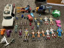 Huge Lot of Vintage 80s 90s Ghostbusters Action Figures + Vehicles