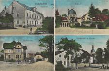 39/989 AK SCHÖNFELD GROßENHAIN  GASTHOF FELDPOST JAHR 1918 -  Abs. RITTERGUT