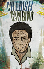 Childish Gambino Poster Limited Edition out of 100 - Donald Glover Hip Hop