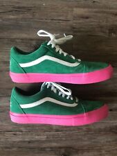 VANS X Golf Wang Syndicate Green Pink 11 supreme odd future Shoes Rare Vault 58c82c23e
