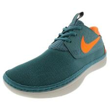 Nike Mens Solarsoft Moccasin Blue Running Shoes Sneakers 8 Medium (D) BHFO 3933