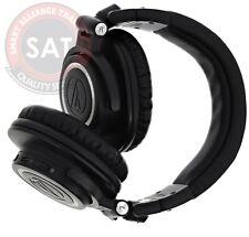 Audio-Technica Wireless Bluetooth ATH-M50XBT Over-Ear Headphones Black Used👌