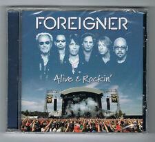 FOREIGNER - ALIVE & ROCKIN' - 9 TITRES - 2012 - NEUF NEW NEU