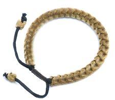 Bracelet Real Natural Cobra Snake Spine Bone Men Man Mens 8 inch Adjustable