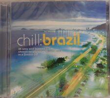Chill: Brazil by Various Artists (CD 2002, 2 Discs, WEA Latina) Brand NEW