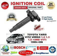 FOR TOYOTA YARIS VITZ VERSO 1.0 1.3 1.5 +4WD VVTi 1999-ON IGNITION COIL 4 PIN