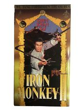 Iron Monkey 2 VHS WuTang Forbidden Treasures KungFu Movie Chen Kwan Tai Judy Lee