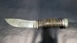 VINTAGE BOY SCOUT REMINGTON DUPONT RH50 HUNTING KNIFE