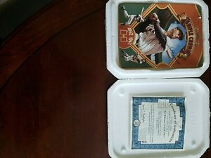 TRIPLE CROWN PLATE W/TRANSFER ENDORSEMENTS/ WILLIAMS  NEW/Collector Plate