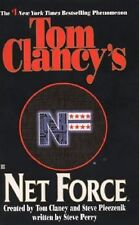 Net Force: Net Force #1 - Tom Clancy paperback GC Action, adventure & cybercrime