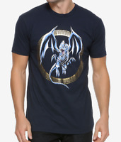 Anime Yu-Gi Oh! BLUE EYES WHITE DRAGON T-Shirt NEW Authentic & Official