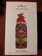 2019 Hallmark Keepsake Ornament Tiki Tidings Totem Pole New