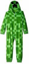 New Boys Minecraft Creeper Costume Union Suit 8
