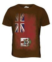 Bermuda Bandiera Sbiadita da Uomo T-Shirt Maglietta Bermudian Calcio Maglia